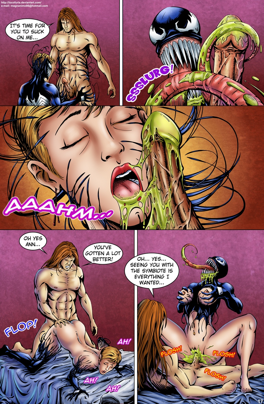 Symbiote-1 18 free sex comic