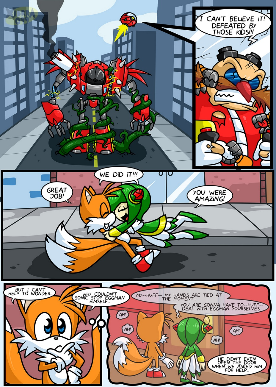 Tails-And-Cosmo-s-First-Time 2 free sex comic