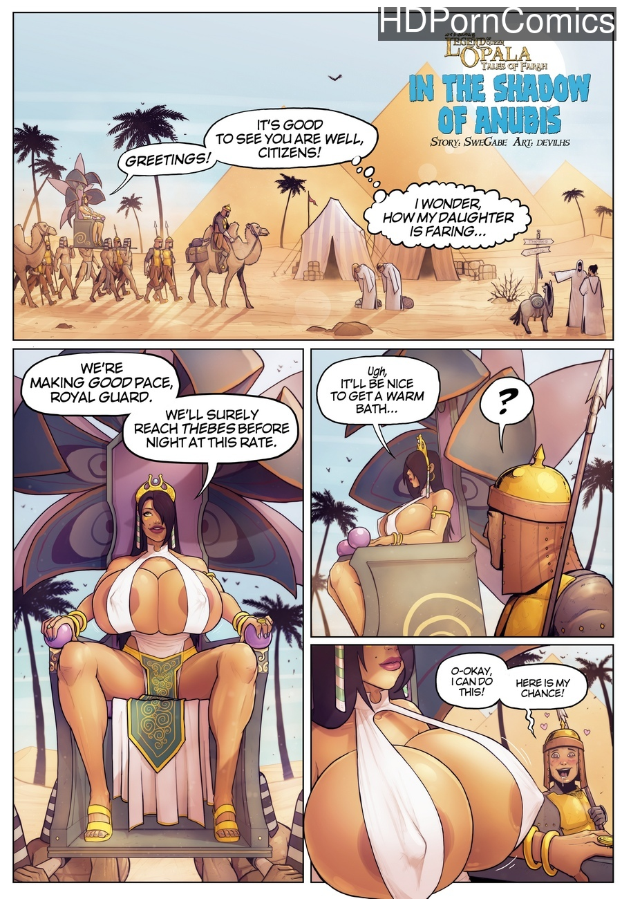 Tales-Of-Farah-In-The-Shadow-Of-Anubis 1 free porn comics