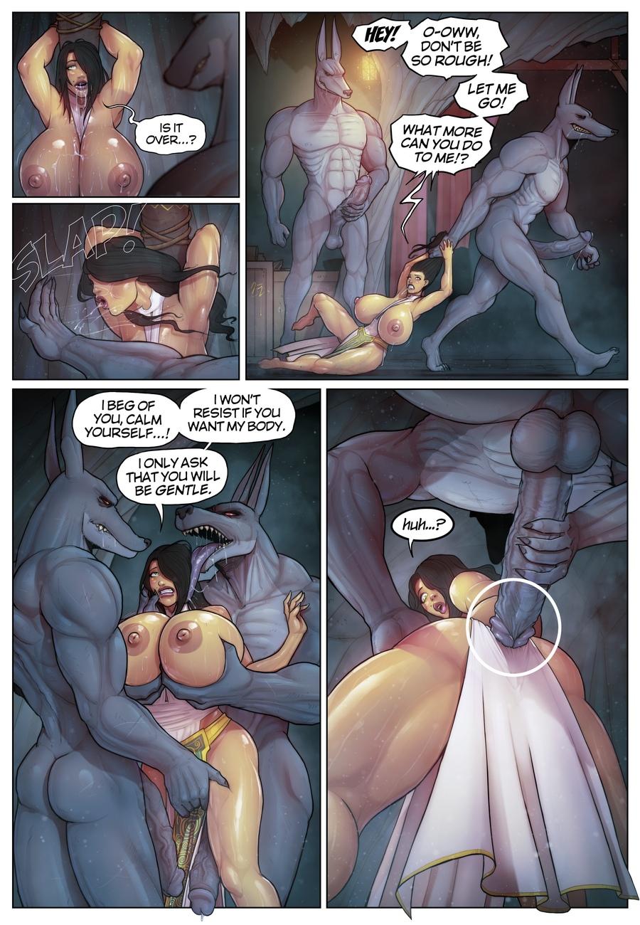 Anubis Porno tales of farah in the shadow of anubis comic porn hd