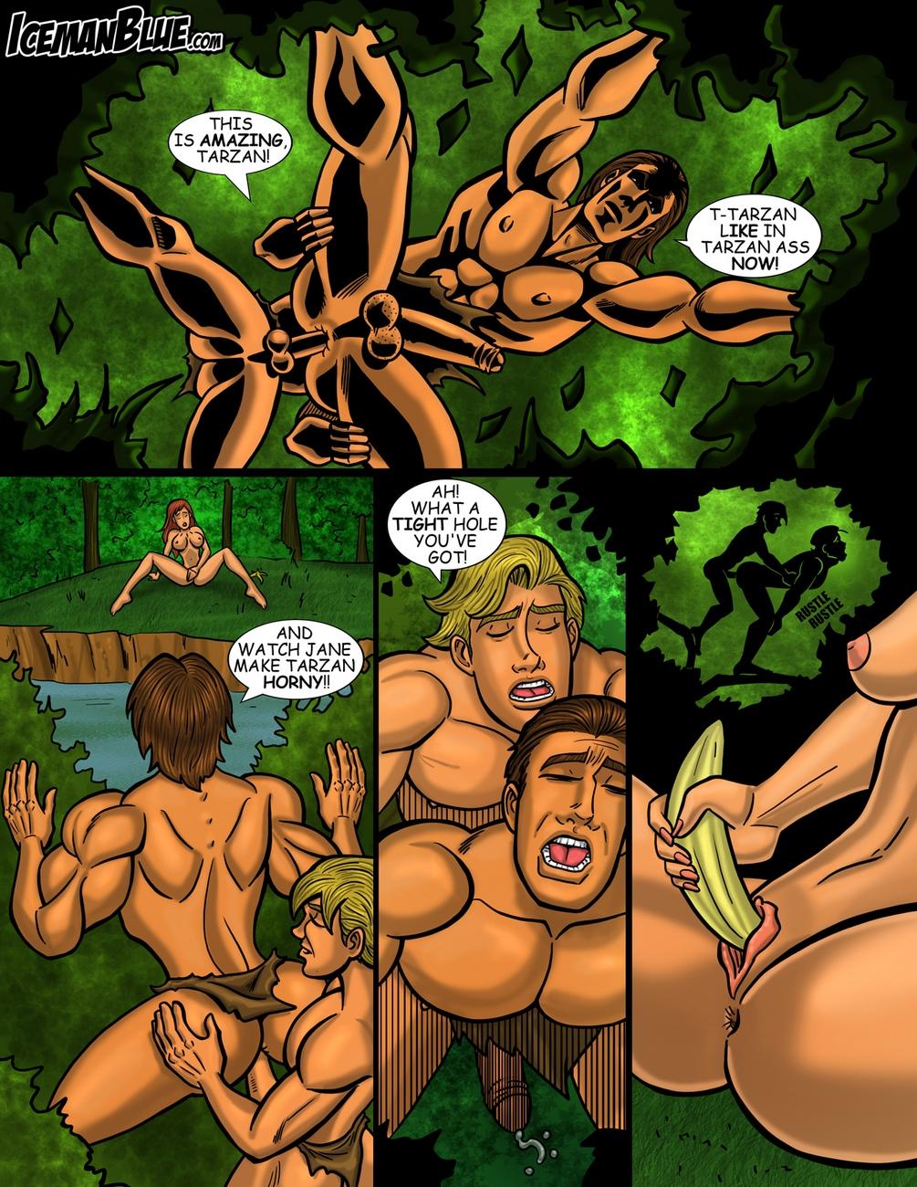 Tarzan 5 free sex comic
