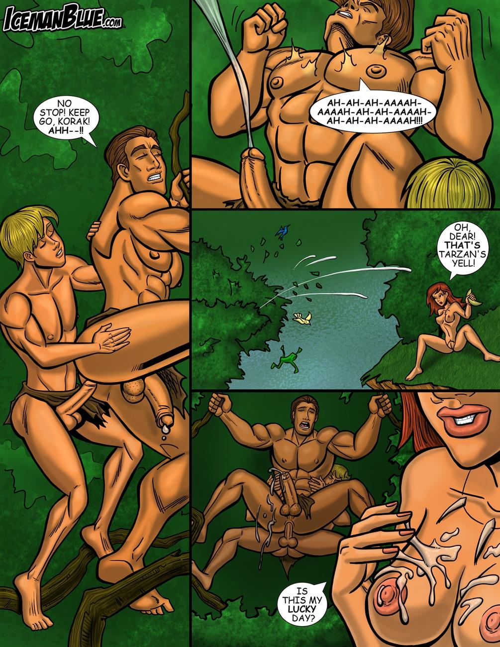 Tarzan 6 free sex comic