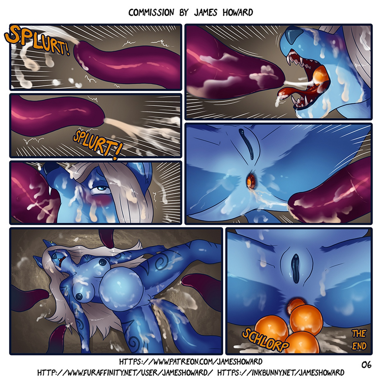 Tentacle-Cave-Furry 7 free sex comic