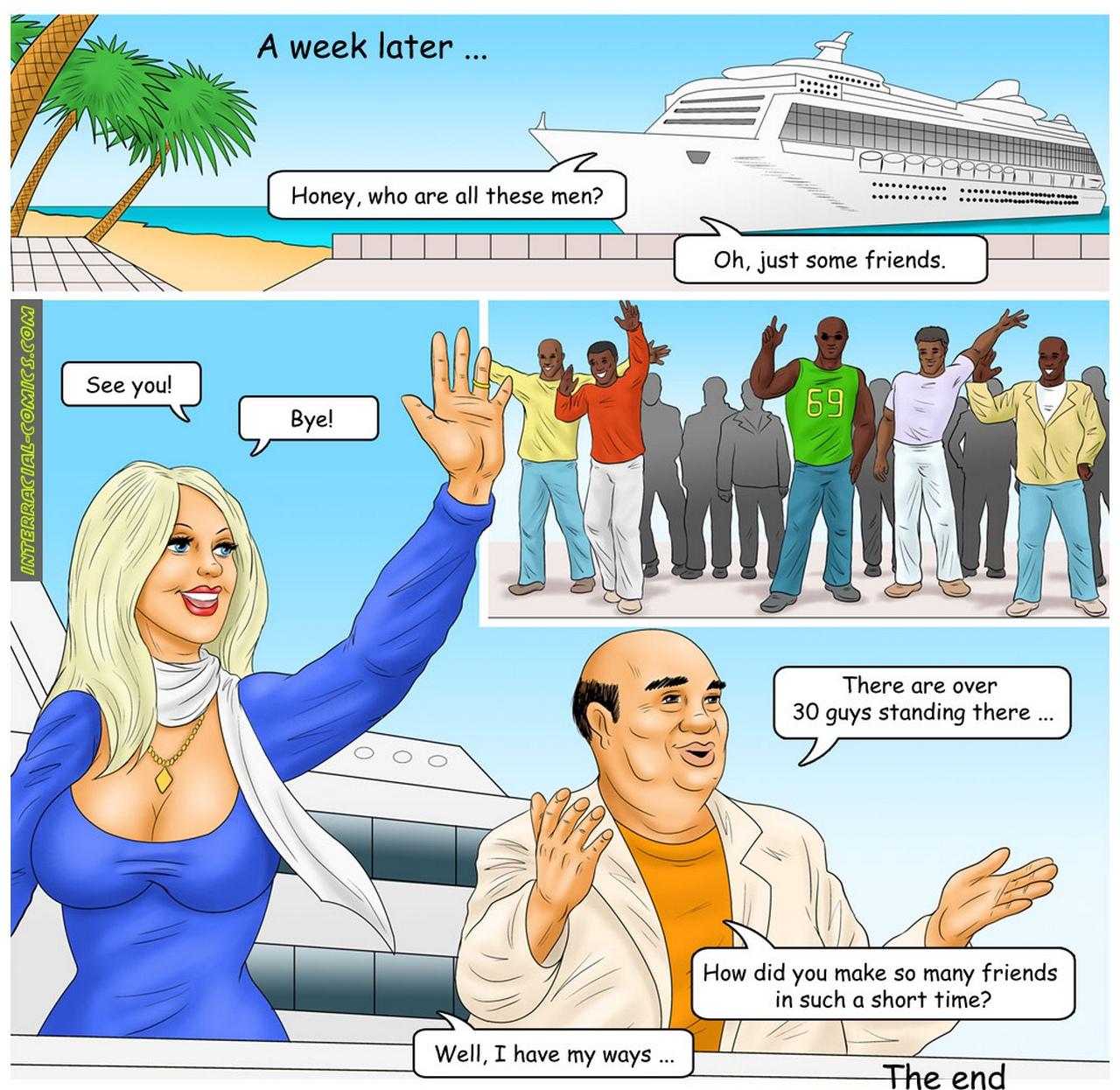 The Caribbean Holidays comic porn