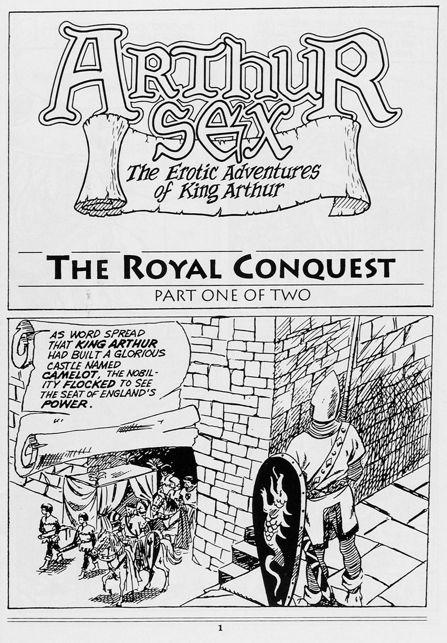 Porn King Castle the erotic adventures of king arthur - the royal conquest 1