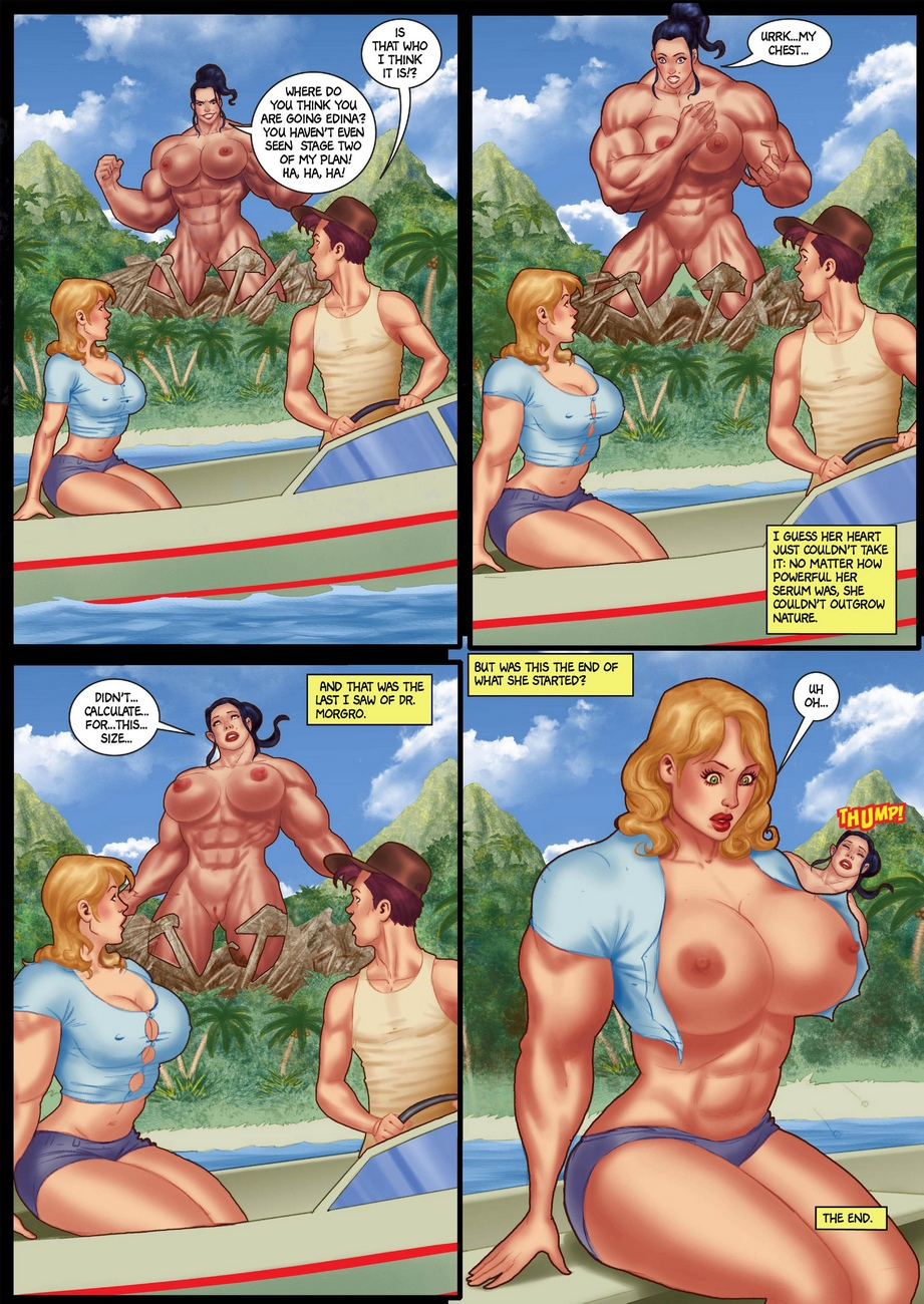 The Island Of Doctor Morgro 3 comic porn