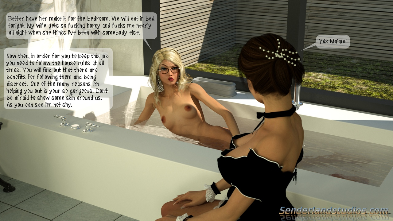 The-Maid-s-Blowjob 5 free sex comic