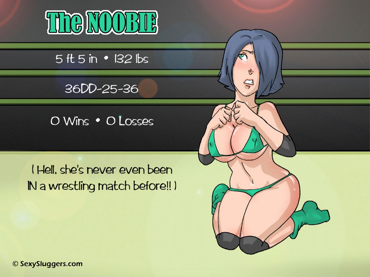 The-Noobie 3 free sex comic