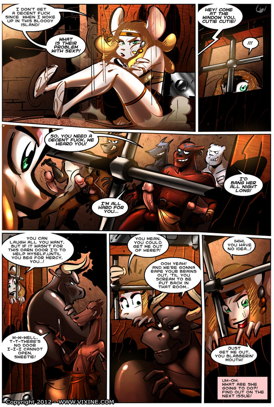 The Quest For Fun 14 – Fight For The Arena, Fight For Your Freedom Part 4 comic porn
