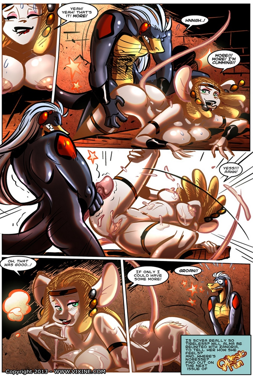 The Quest For Fun 15 – Fight For The Arena, Fight For Your Freedom Part 5 comic porn