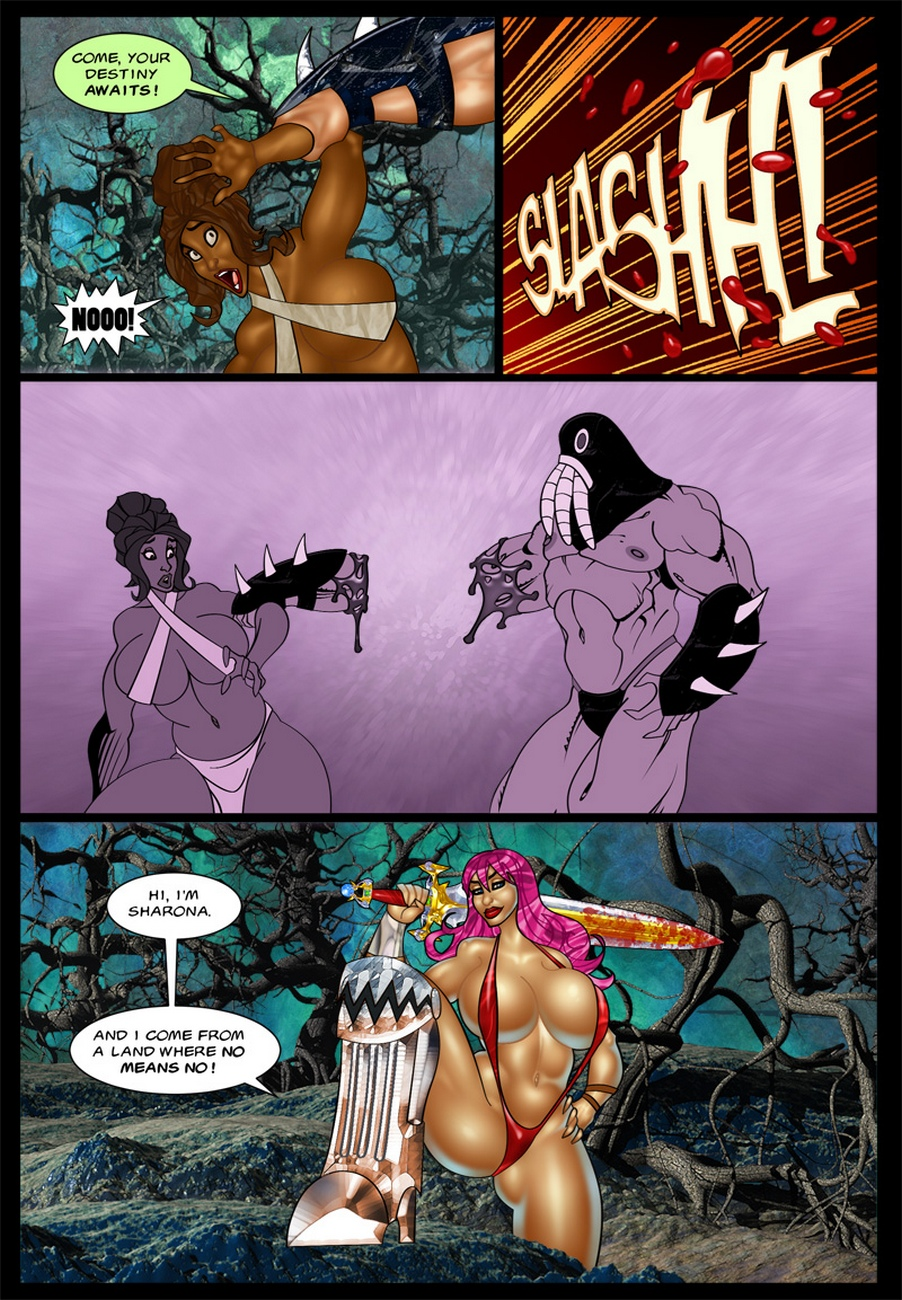 The-Savage-Sword-Of-Sharona-2-The-Call-Of-Cucucthu 4 free sex comic