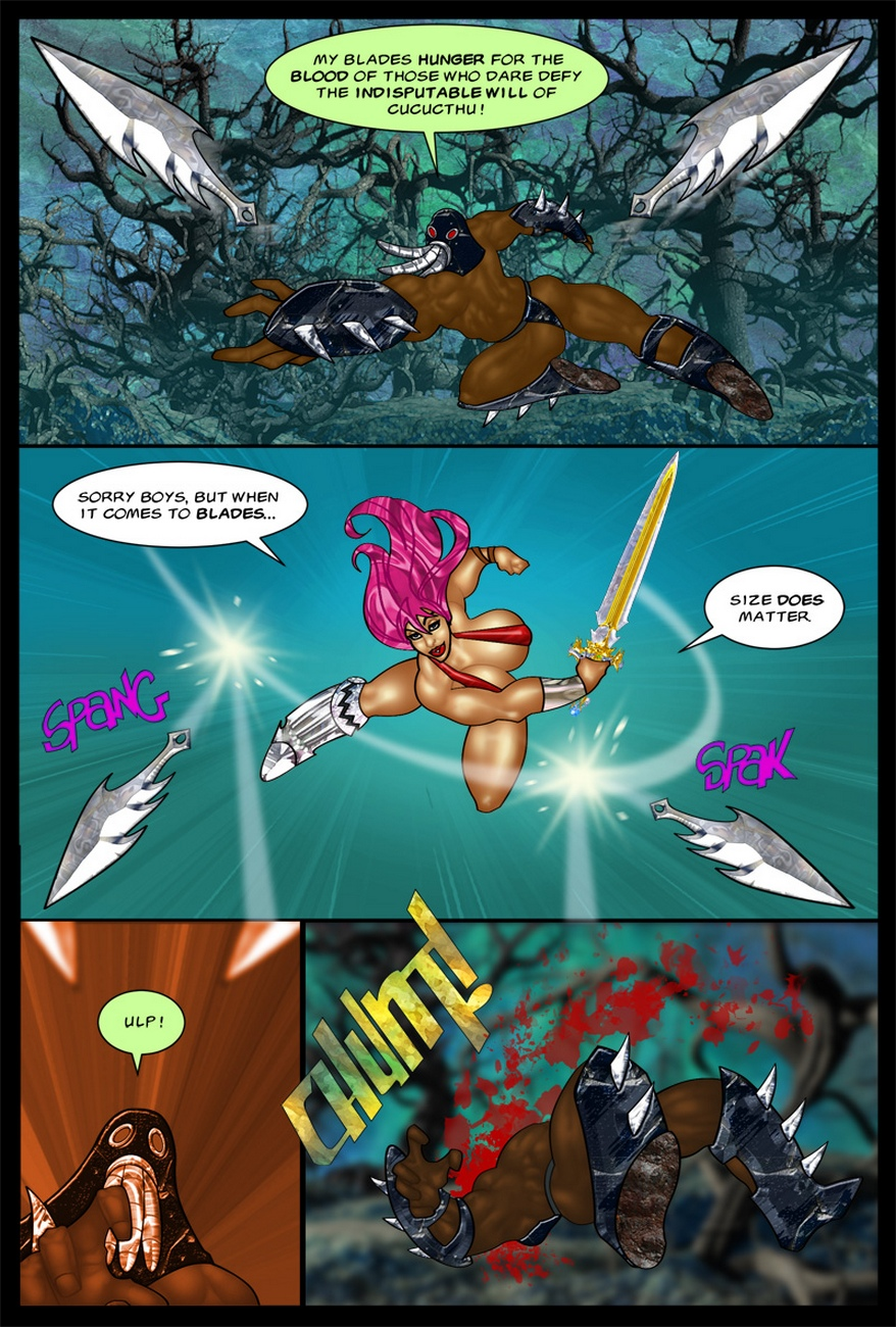 The-Savage-Sword-Of-Sharona-2-The-Call-Of-Cucucthu 6 free sex comic