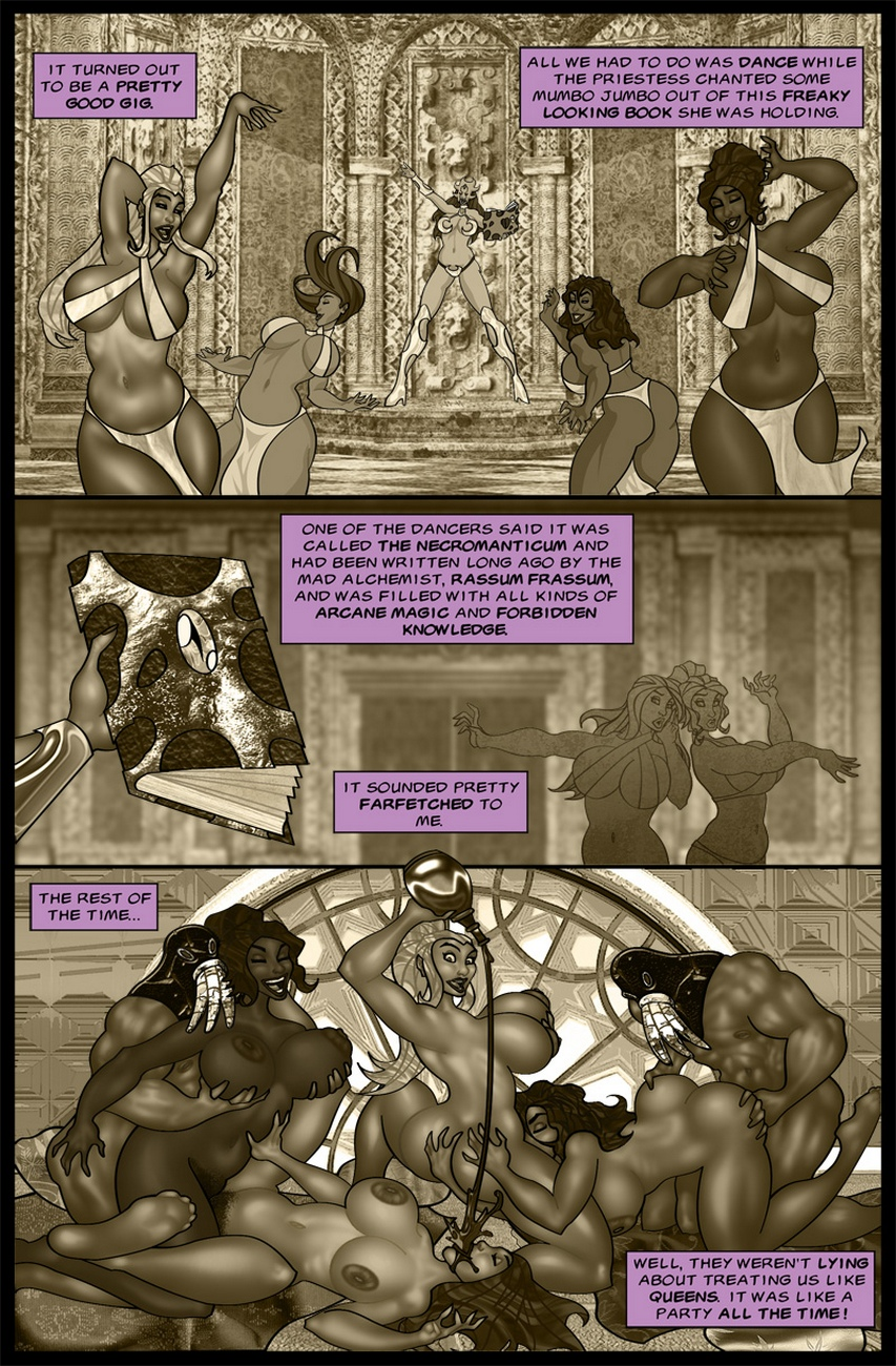 The-Savage-Sword-Of-Sharona-2-The-Call-Of-Cucucthu 10 free sex comic