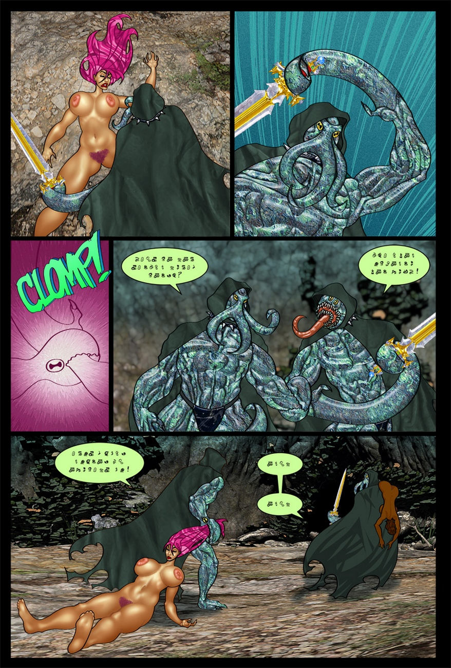 The-Savage-Sword-Of-Sharona-2-The-Call-Of-Cucucthu 19 free sex comic