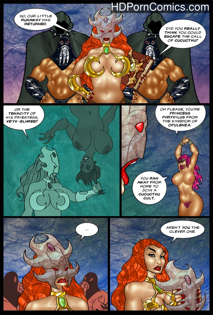 The-Savage-Sword-Of-Sharona-2-The-Call-Of-Cucucthu 21 free sex comic