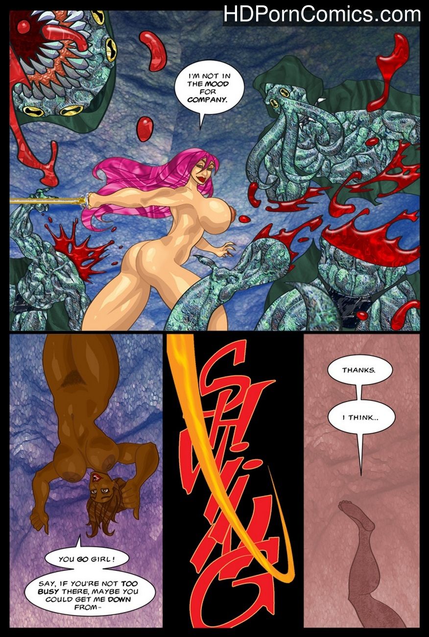 The-Savage-Sword-Of-Sharona-2-The-Call-Of-Cucucthu 31 free sex comic