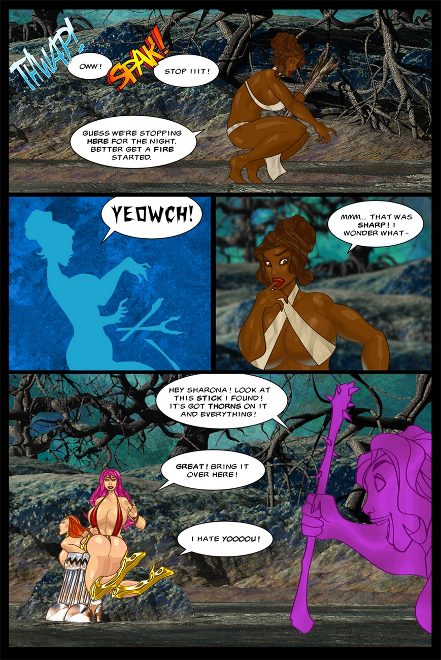 The-Savage-Sword-Of-Sharona-2-The-Call-Of-Cucucthu 34 free sex comic