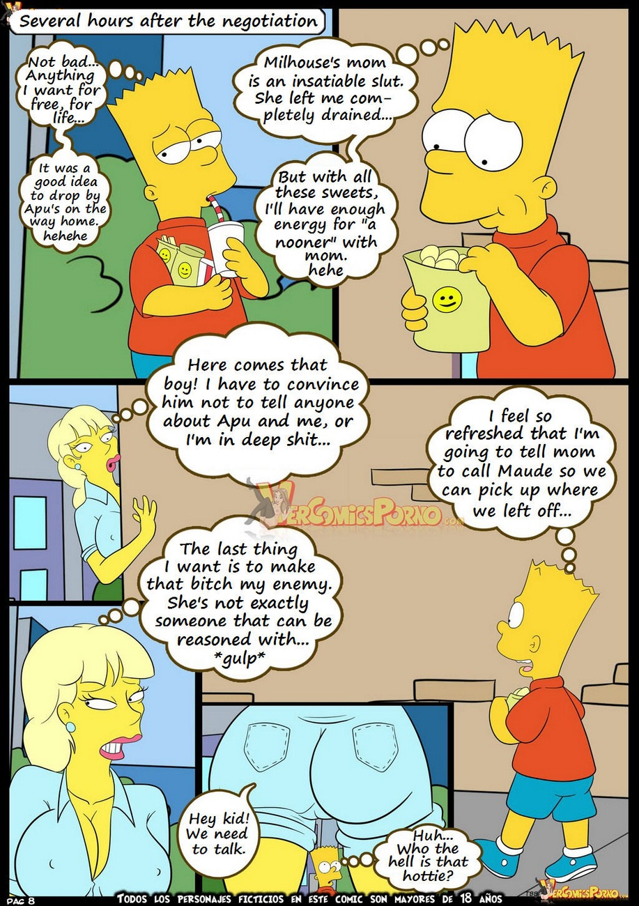 The-Simpsons-7-Old-Habits 9 free sex comic