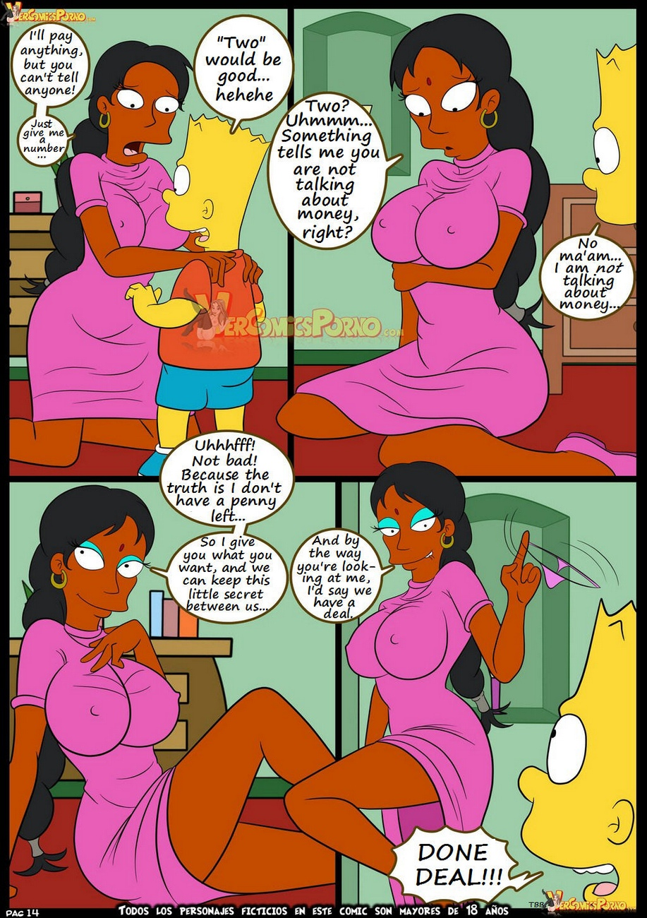 The-Simpsons-7-Old-Habits 15 free sex comic