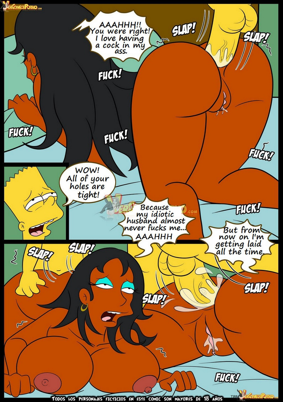The-Simpsons-7-Old-Habits 26 free sex comic