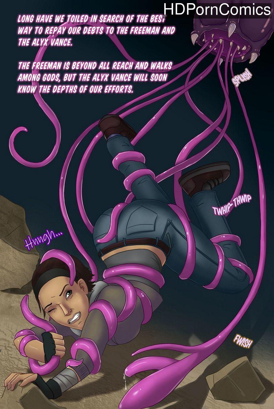 Alien Tentacle Porn Cartoon Comic the wages of liberation comic porn - hd porn comics