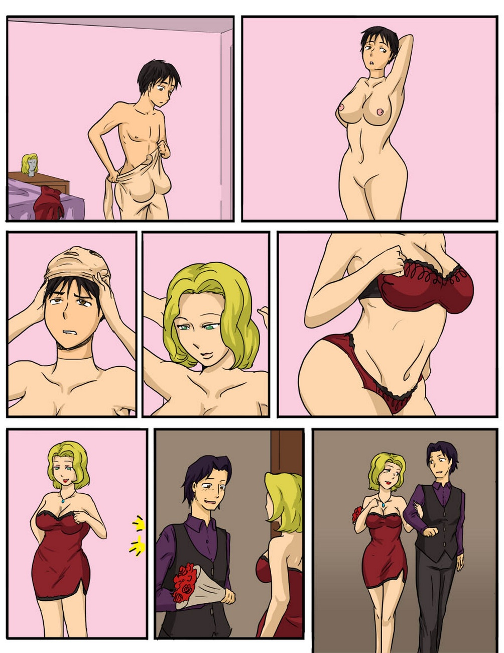 The-Waitress-1 6 free sex comic