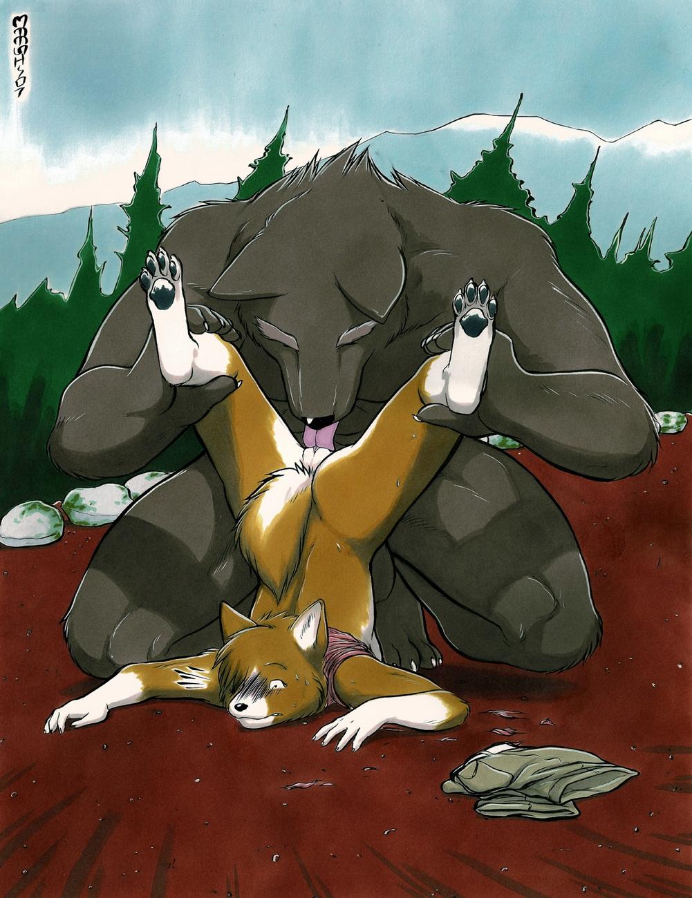 The-Werewolf-And-The-Corgi 5 free sex comic