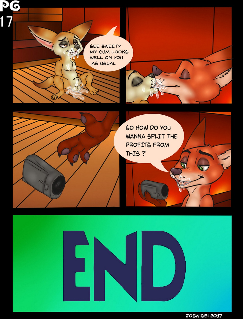 Two Foxes One Bun comic porn