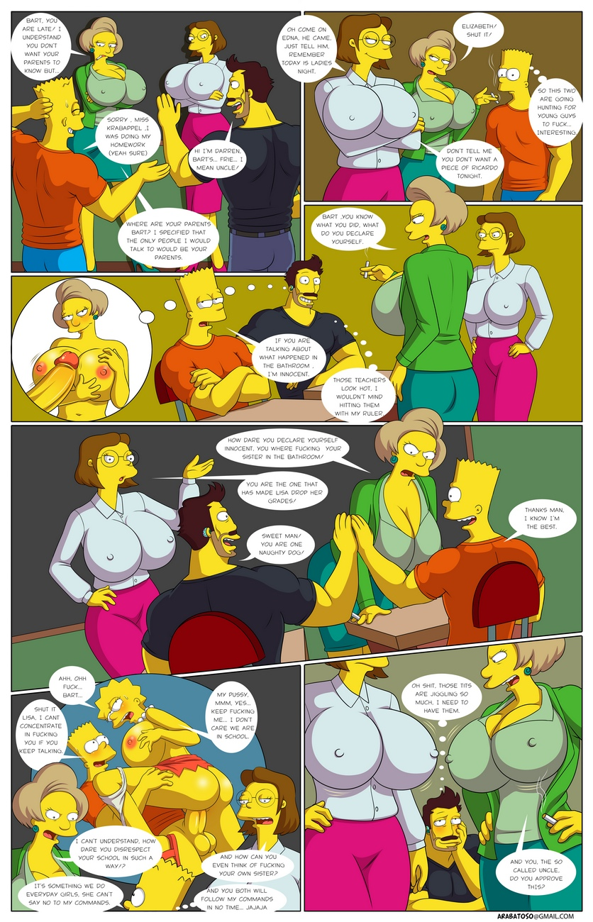 Welcome-To-Springfield 29 free sex comic