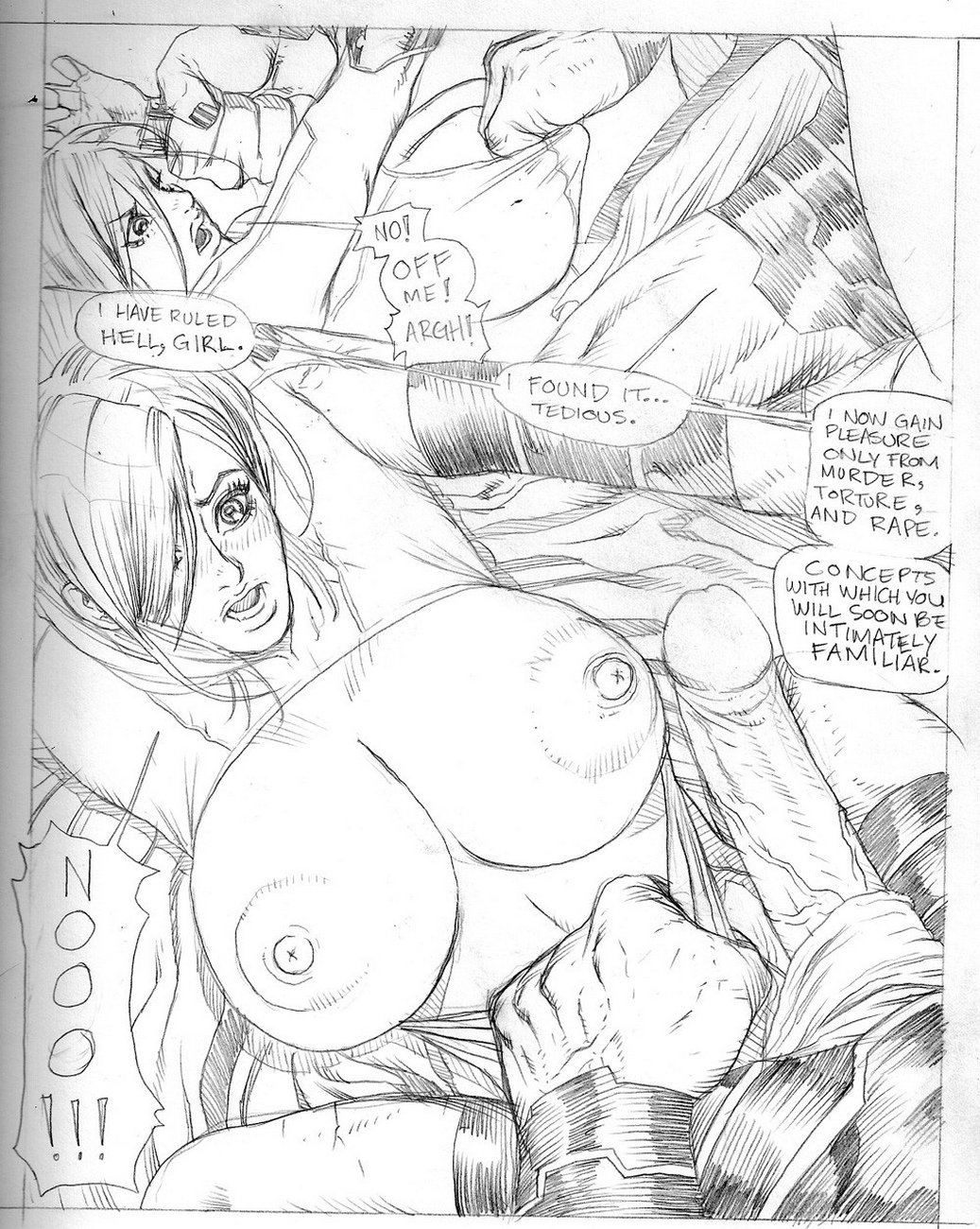 Whores-Of-Darkseid-2-Power-Girl-Violated 12 free sex comic