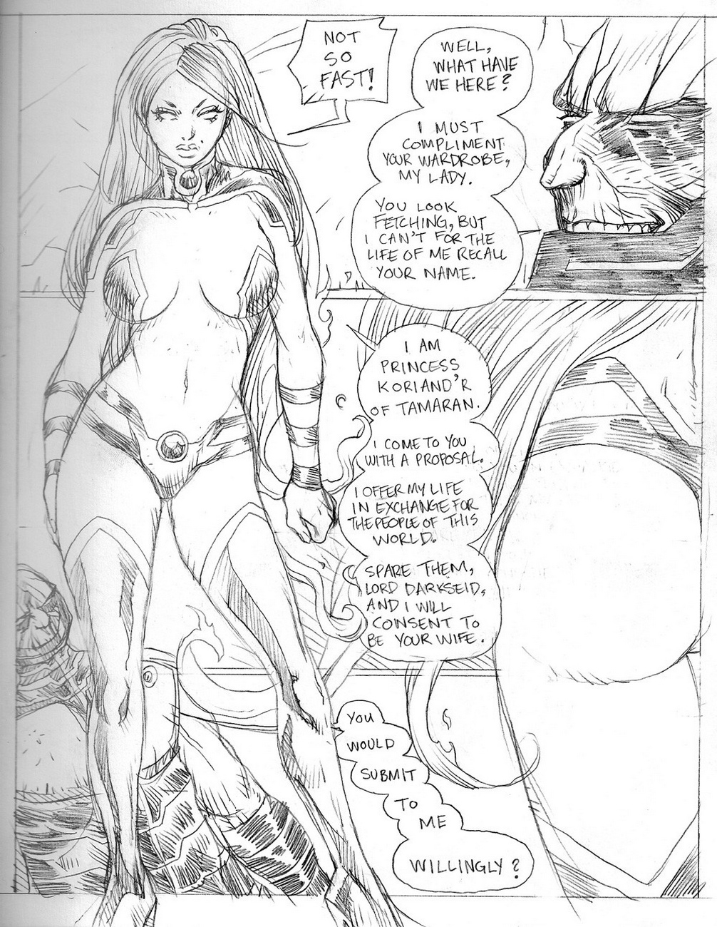 Whores-Of-Darkseid-3-Starfire 5 free sex comic