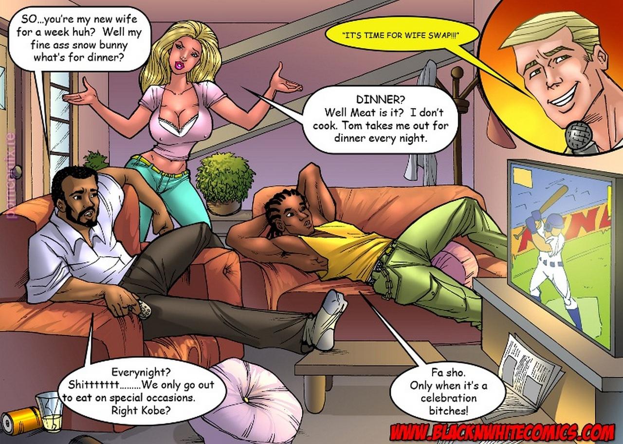 Wife-Swap-Black 4 free sex comic