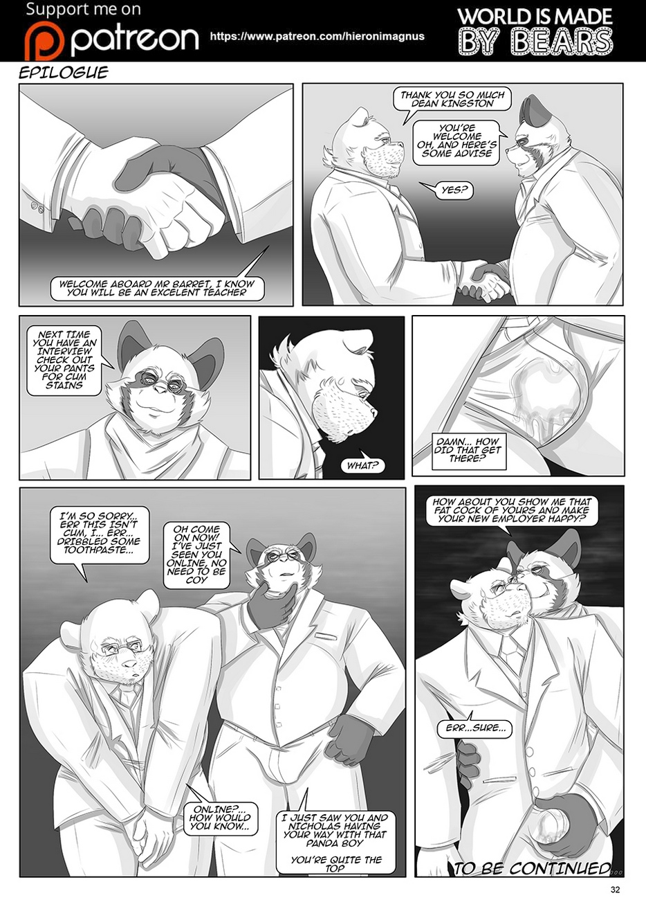 World Is Made By Bears 1 – The New Toy comic porn