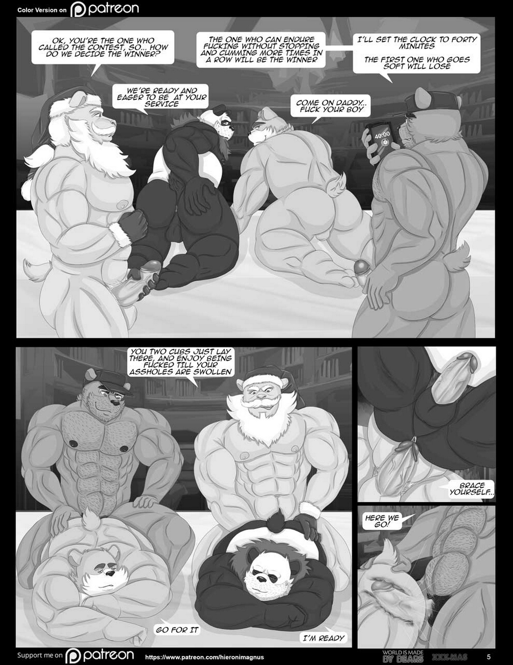 World-Is-Made-By-Bears-Late-XXX-Mas 6 free sex comic