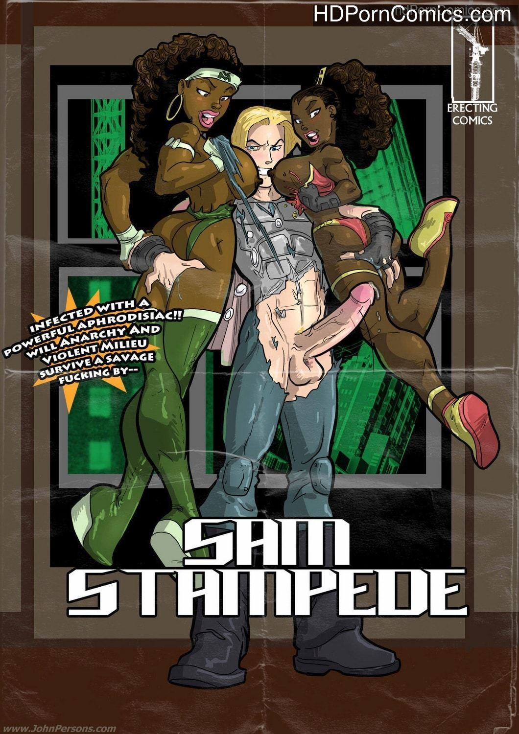 xxx Comix-John persons- Sam Stampede1 free sex comic