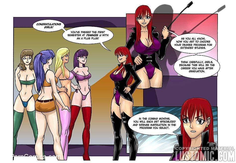 xxx comic-Lustomic- Feminize U14 free sex comic