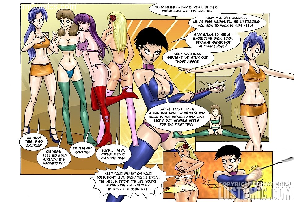 xxx comic-Lustomic- Feminize U6 free sex comic