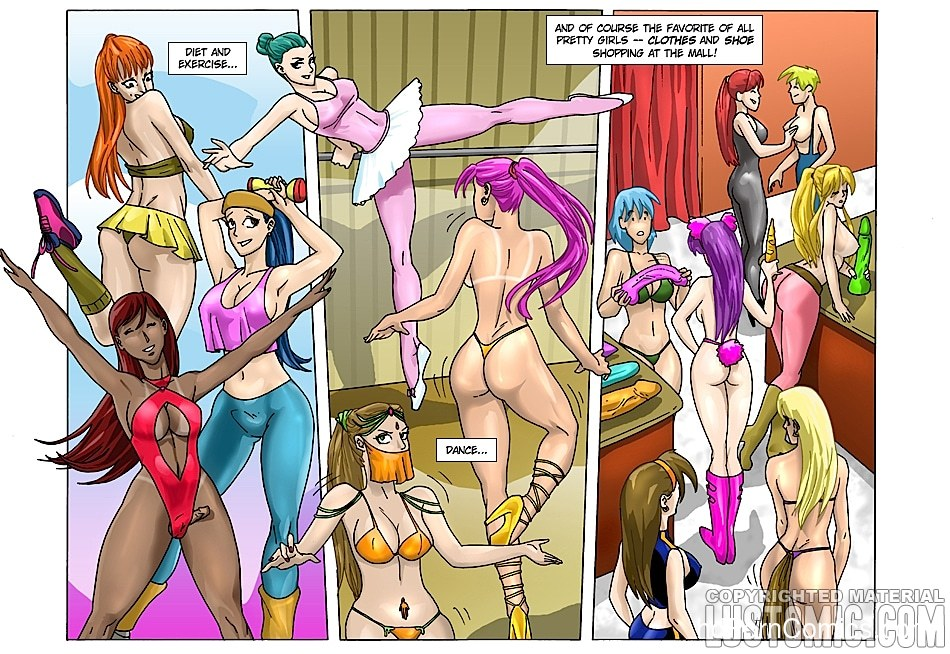 xxx comic-Lustomic- Feminize U8 free sex comic
