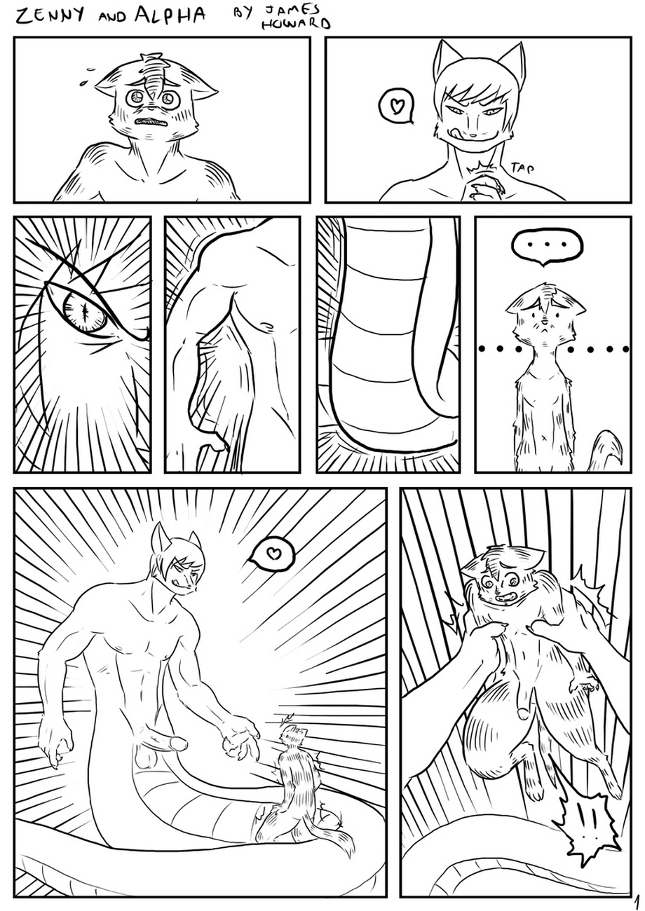 Zenny-And-Alpha 2 free sex comic