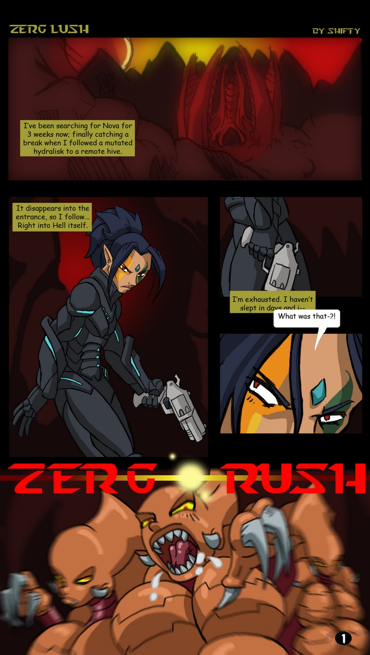 Zerg-Lush 2 free sex comic