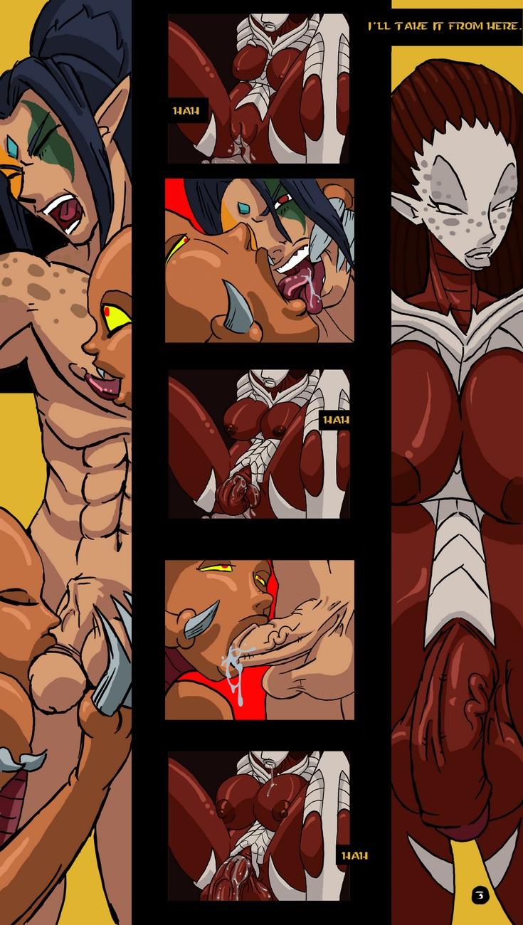 Zerg-Lush 4 free sex comic