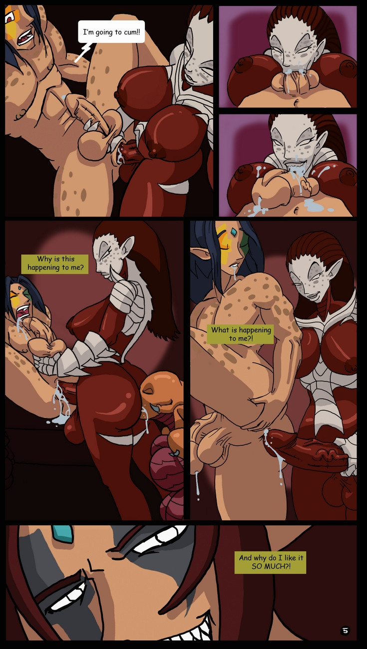 Zerg-Lush 6 free sex comic