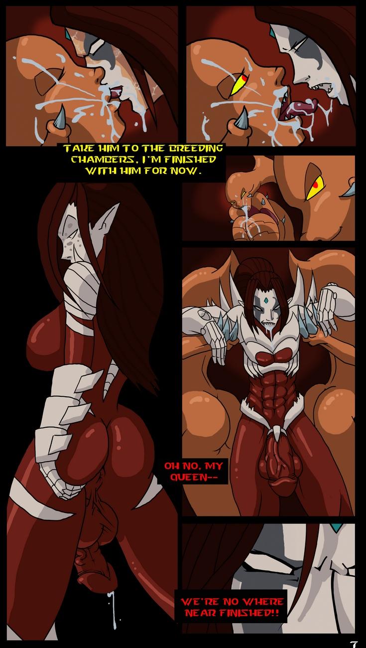 Zerg-Lush 8 free sex comic