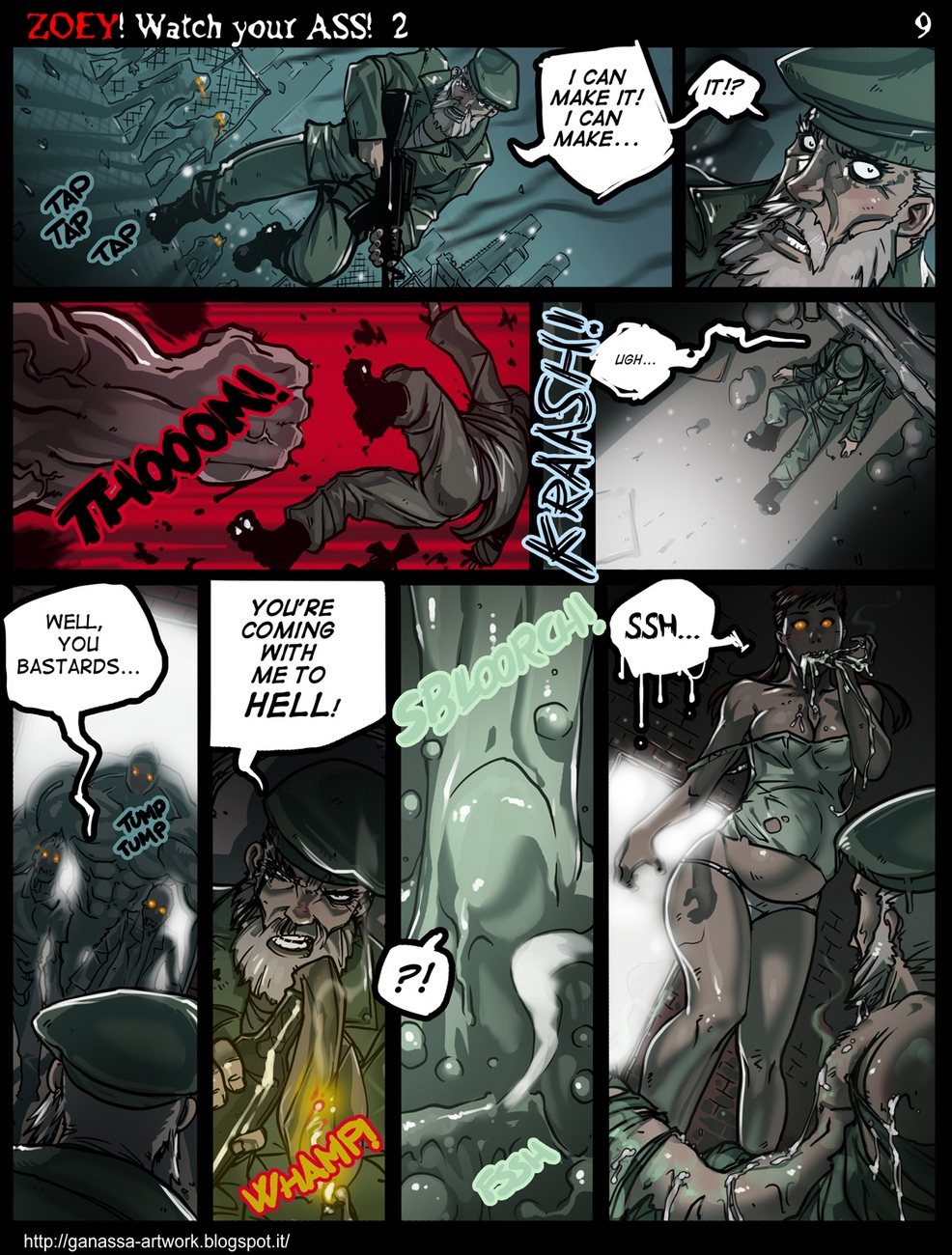 Zoey-Watch-Your-Ass 14 free sex comic