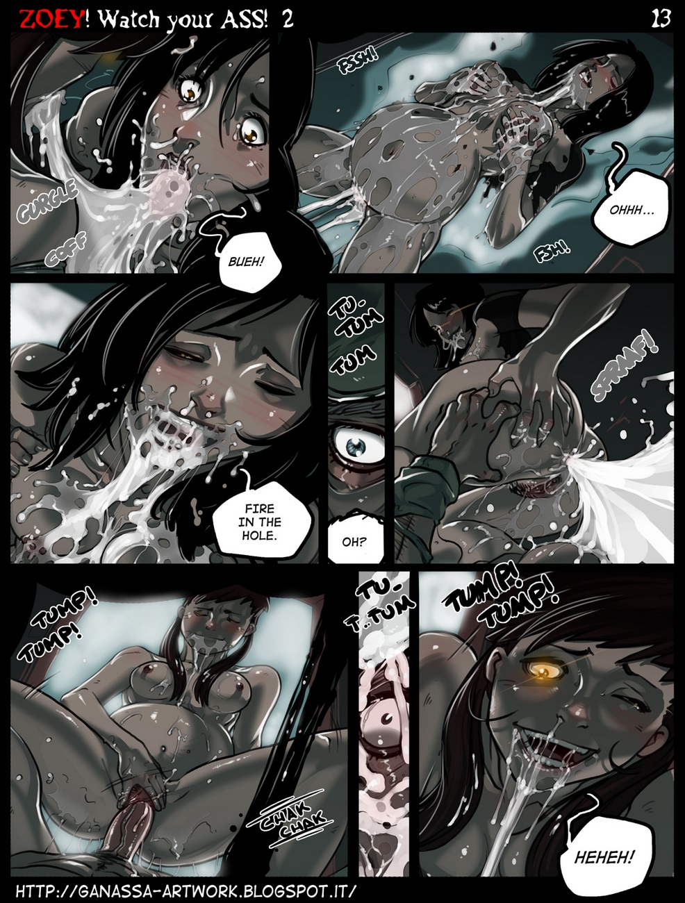Zoey-Watch-Your-Ass 18 free sex comic